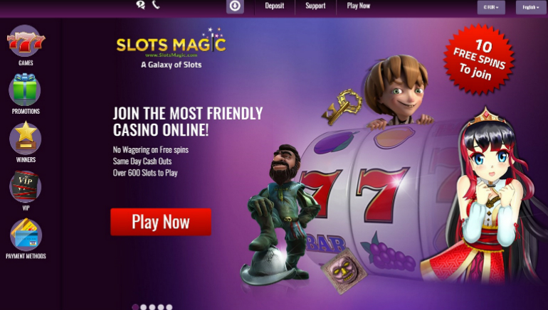 SlotsMagic Casino Introduces New Design and Improved Features for Players