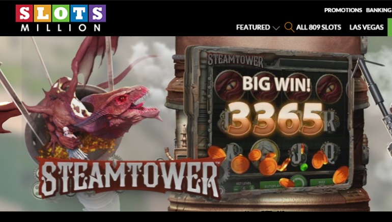 SlotsMillion Dramatically Expands Slots Collection