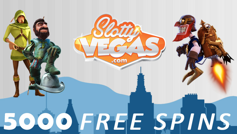 5000 Free Spins For Slotty Vegas Facebook Fans
