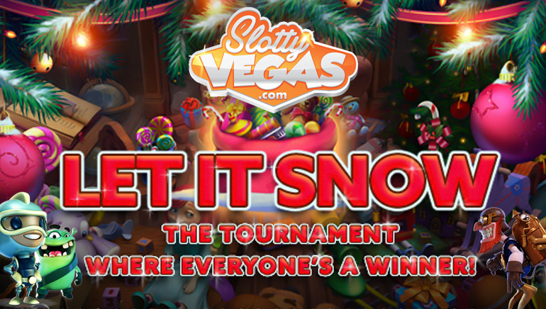 Slotty Vegas Making it Snow for Everyone This Christmas