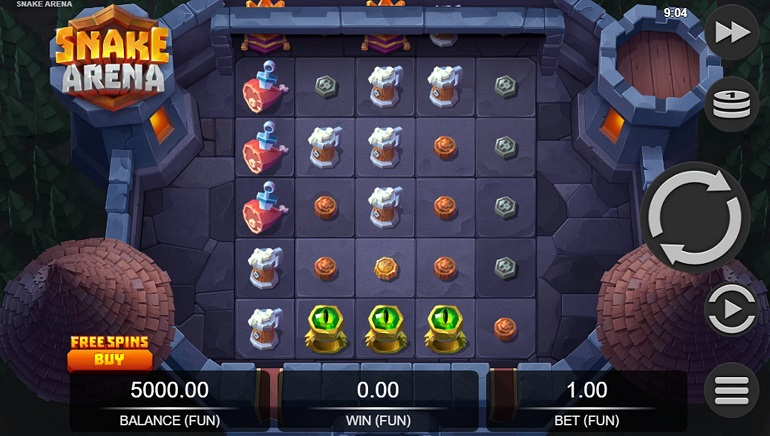 Do Battle in New Snake Arena Slot from Relax Gaming