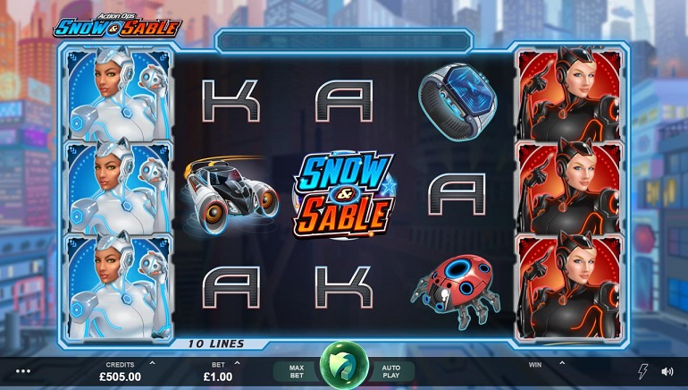 Sci-fi Action As Microgaming Launches Action Ops: Snow And Sable Slot