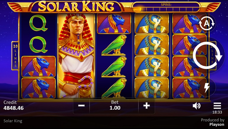 Ancient Egypt is the Destination in Playson's Solar King Slot