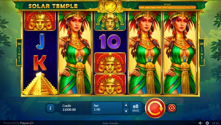 Playson Goes On An Aztec Adventure With New Solar Temple Slot