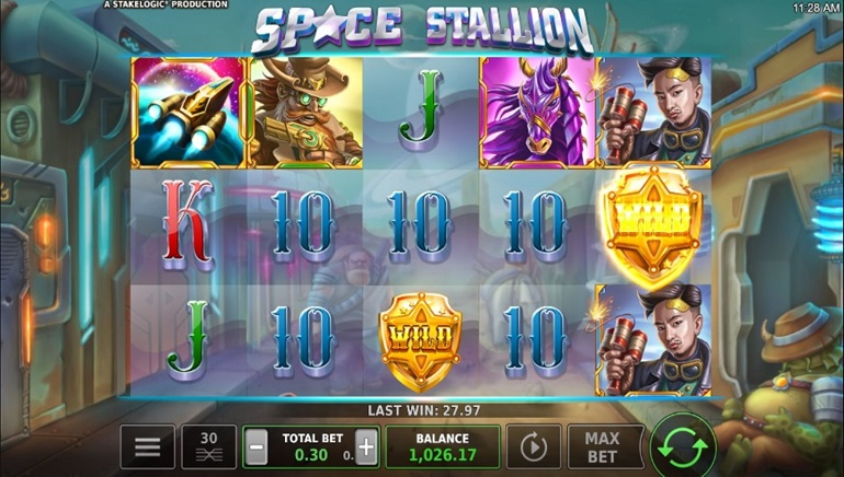 Slot Review: Space Stallion by Stakelogic