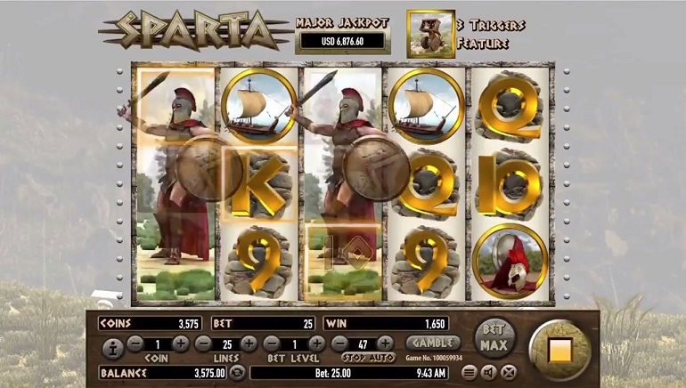 Come and Take Them: Habanero Releases New Sparta Slot