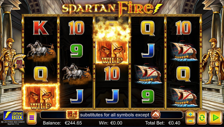 Victory is Nigh with Spartan Fire from Lightning Box