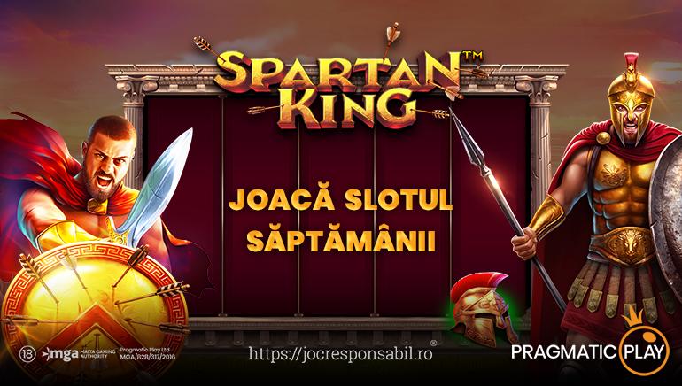 Spartan King Slot Enters the Fray at Pragmatic Play Casinos