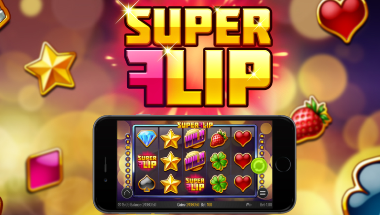 Super Flip Slot is New to Play'n GO Casinos in September