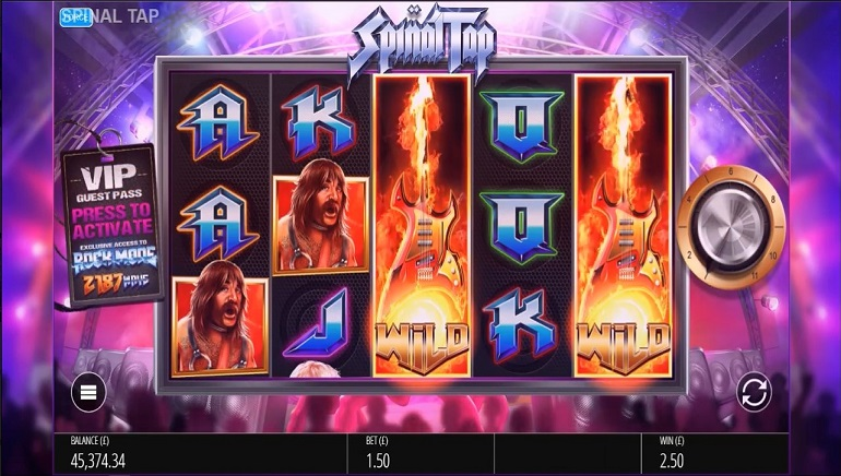 Rock Out with This is Spinal Tap from Blueprint Gaming