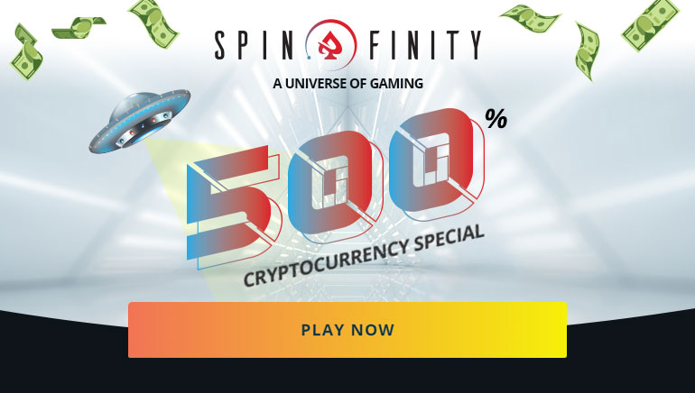 Incredible BTC Deposit Special Now Available at Spinfinity