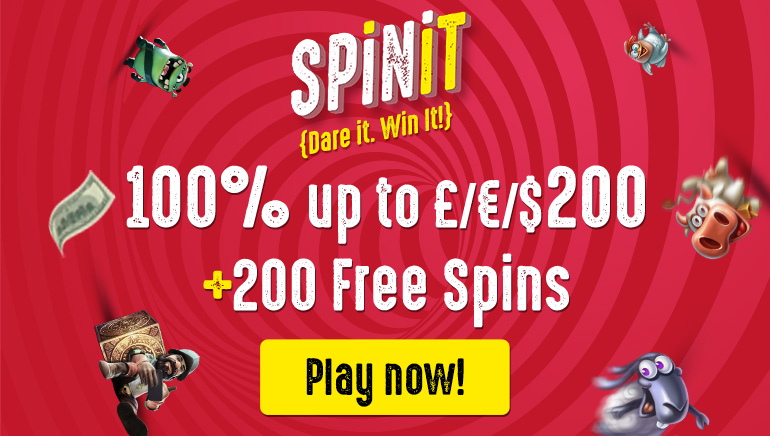 Grab Your €200 Bonus and 200 Free Spins at The Brand New SPiNiT Casino
