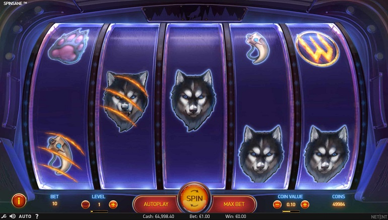 Go on the Prowl with Spinsane Slot at NetEnt Casinos