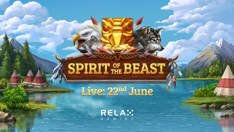 Relax Gaming Releases Wild New Slot: 'Spirit Of The Beast'