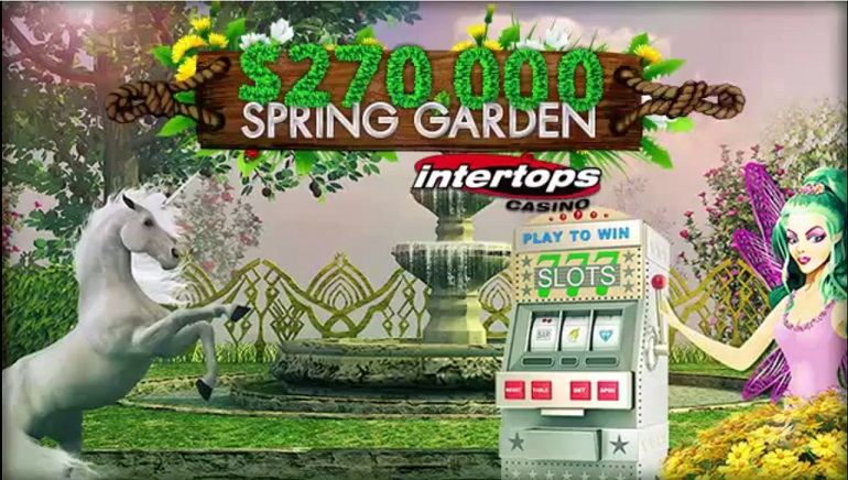 The Spring Garden Giveaway Starts at Intertops Casino