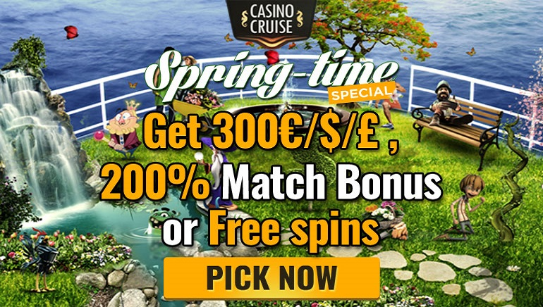 Get Blooming Bonuses with Casino Cruise's March Spring Promo
