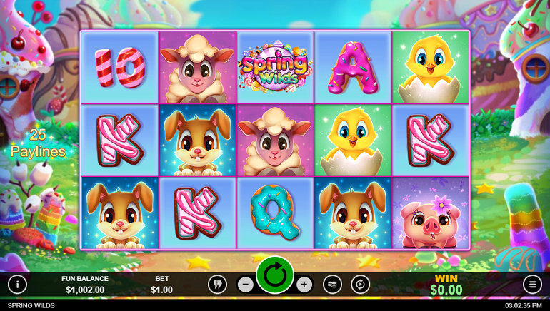 Intertops Casino Players Can Enjoy Free Spins On New Spring Wilds Slot