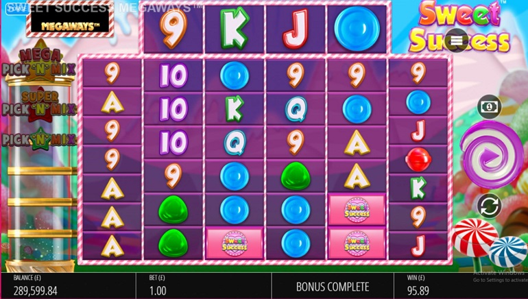 Slot Review: Sweet Success Megaways by Blueprint Gaming