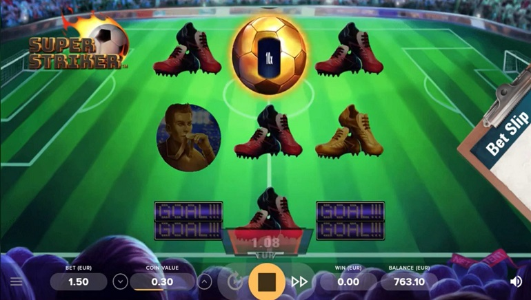 NetEnt Scores With New Super Striker Online Slot