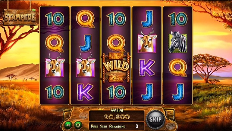 It's Full of Elephants: Playing Betsoft's New Stampede Slot