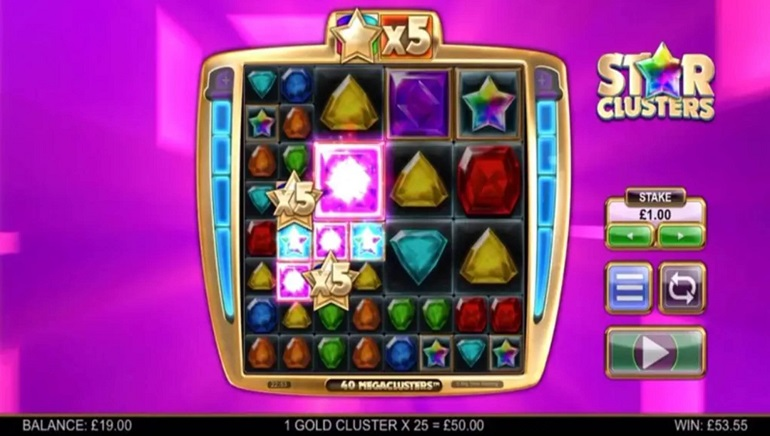 Slot Review: Star Clusters Megaclusters by Big Time Gaming