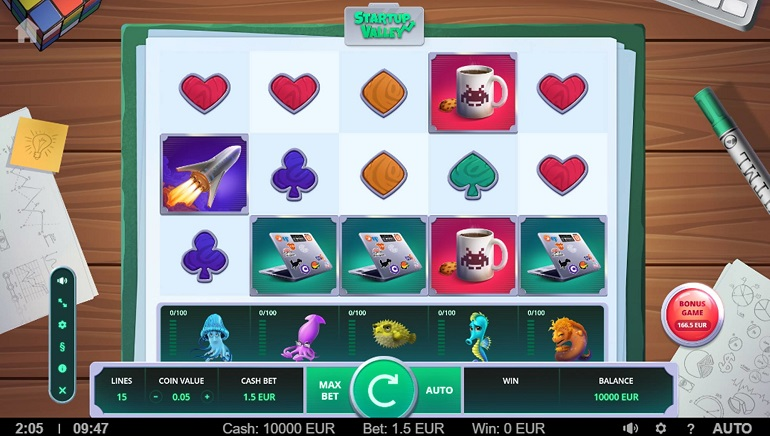 StartUp Valley Slot is New from TrueLab Games