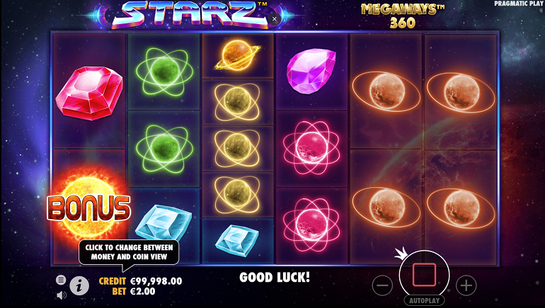 Pragmatic Play Takes Players on Exciting Cosmic Journey With Starz Megaways