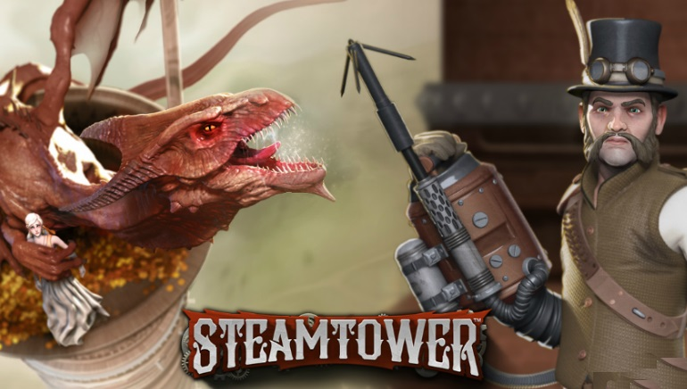 NetEnt Releases New Steampunk-themed Game: Steam Tower