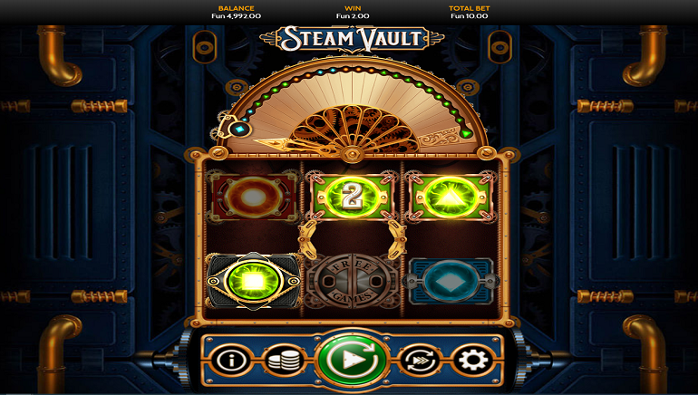 Steam Vault Slot From OneTouch Brings Steampunk Style To Mobiles