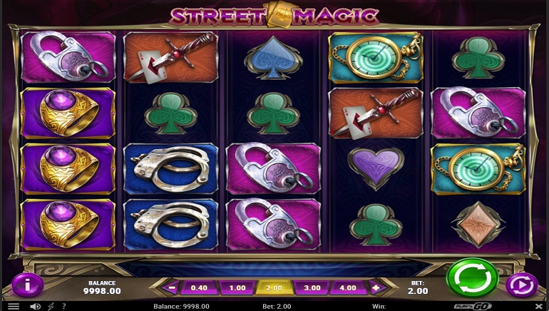 New Play'n GO Slot, Street Magic, Launches Thursday