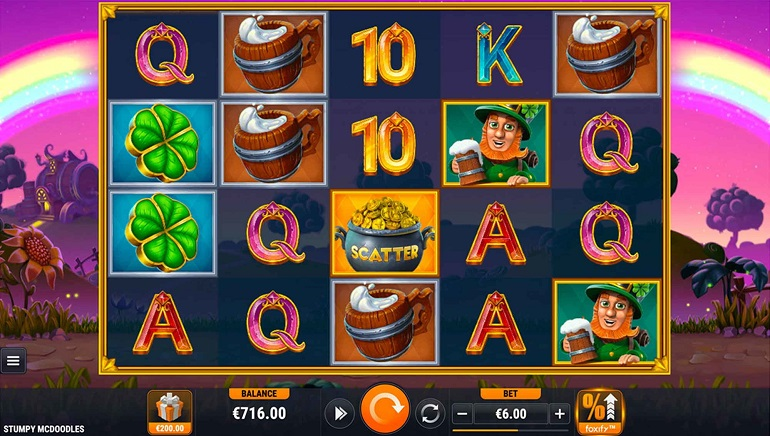 Slot Review: Stumpy McDoodles by Foxium and Quickfire
