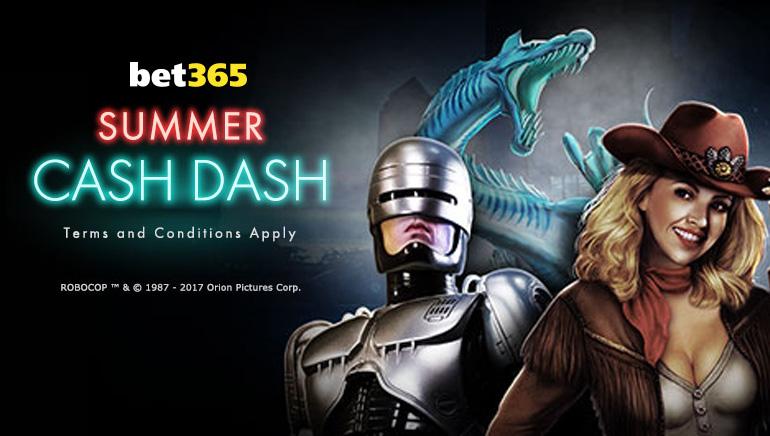 The $240k Summer Cash Dash is Underway at bet365 Casino