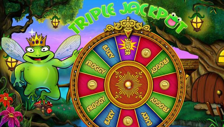 Super Lucky Frog Super Jackpot
