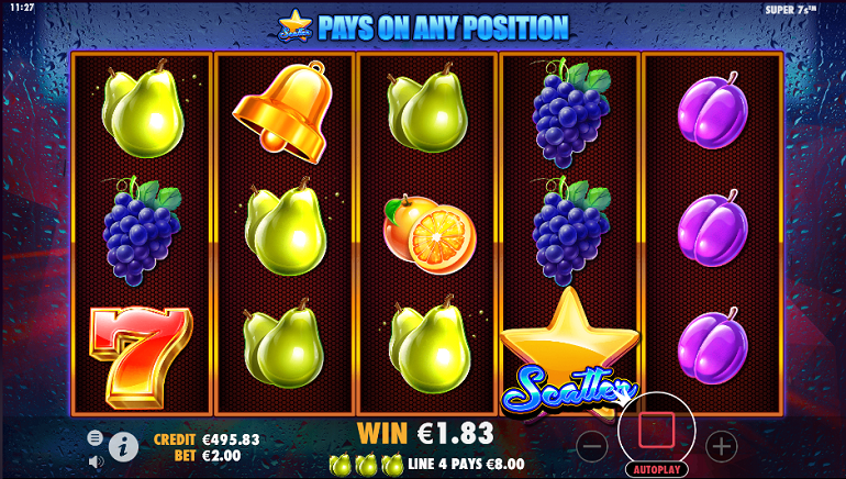 Retro Style Super7s Slot Launched By Pragmatic Play