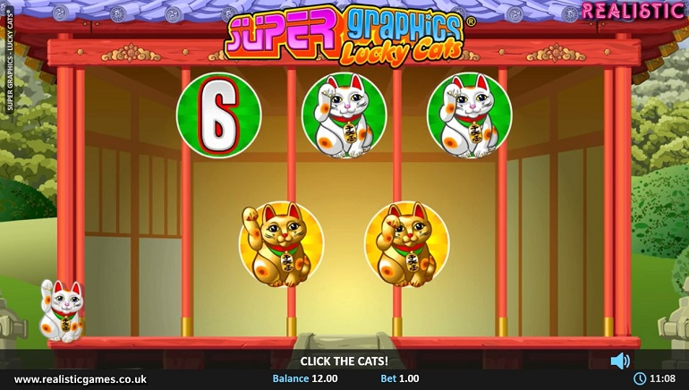 Realistic Games Roars with Super Graphics Lucky Cats