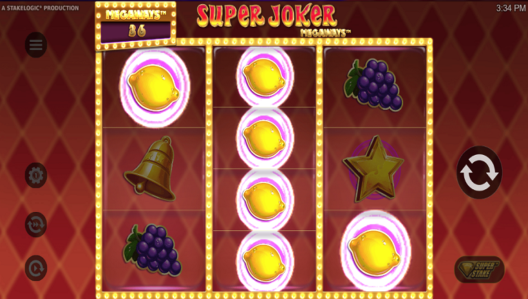 Slot Review: Super Joker Megaways by Stakelogic