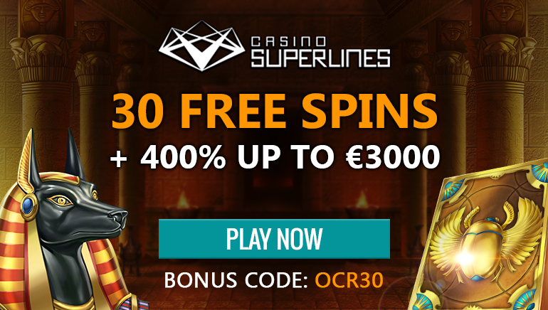 Get Started at Casino Superlines With 30 No Deposit Free Spins