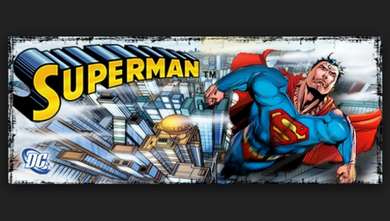 Superman Featured as 888 Game of the Month
