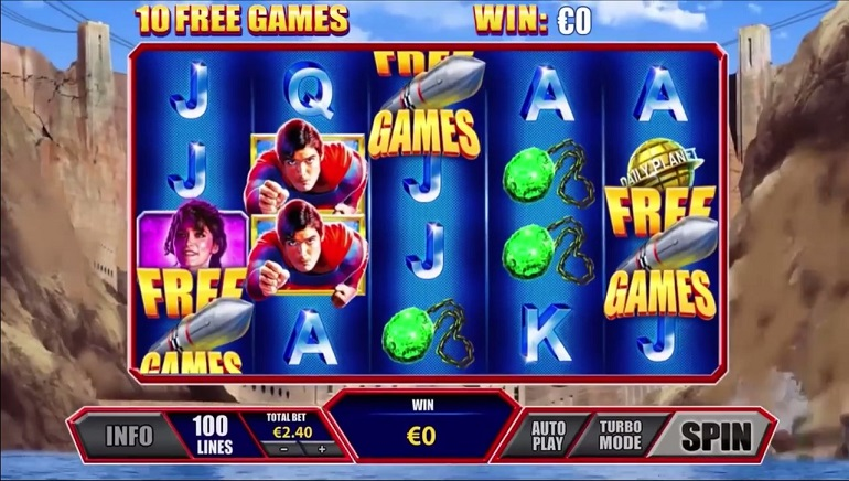 Playtech Launches £500,000 Giveaway in Celebration of of New Superman Slots
