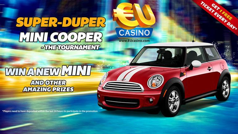 Win a Brand New Mini Cooper at EU Casino