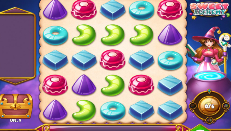 Taste the Magic with Play'n GO's Sweet Alchemy Slot