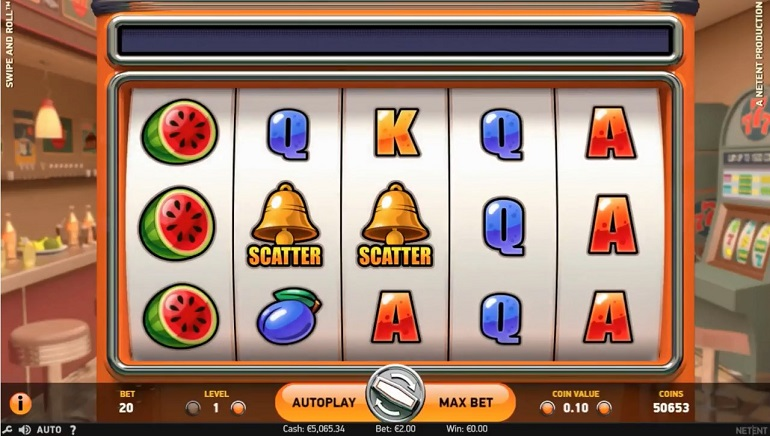 Slot Review: Swipe and Roll by NetEnt