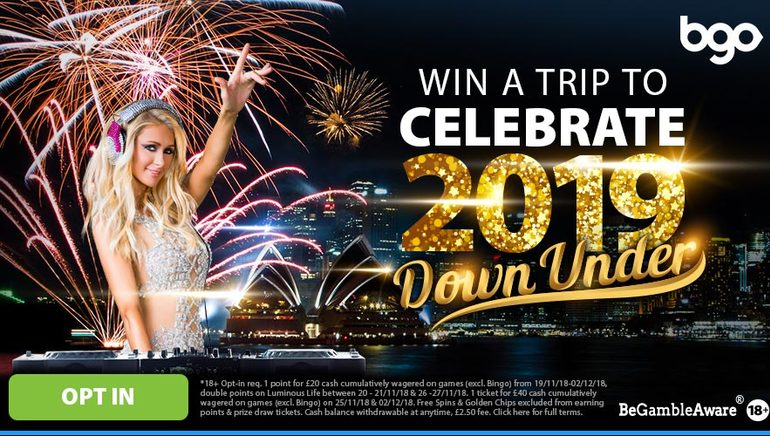 Celebrate 2019 in Australia with bgo Casino's Latest Event