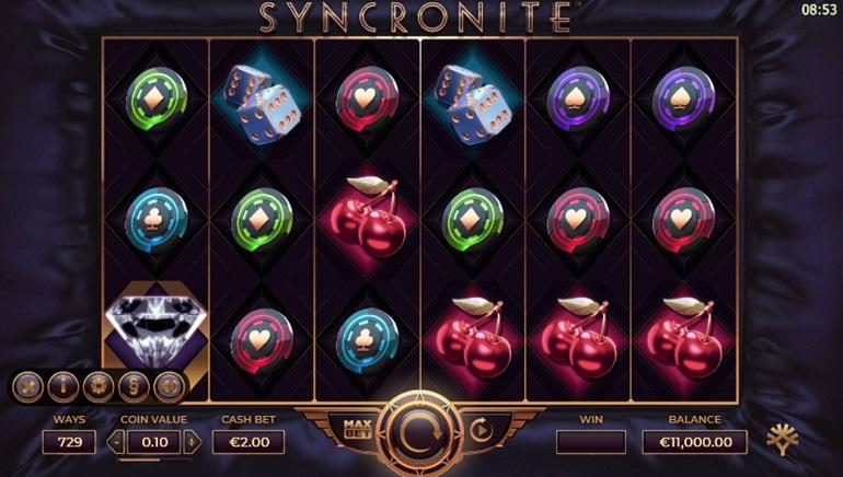 Syncronite Splitz Slot Released by Yggdrasil Gaming