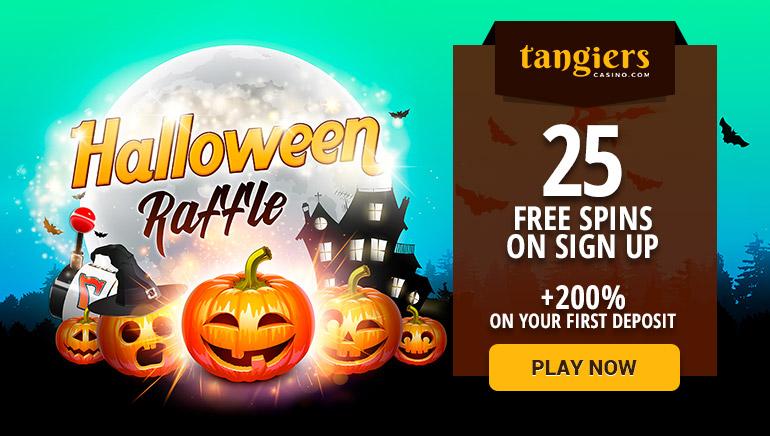 Tangiers Casino Presents the Halloween Pumpkin Raffle