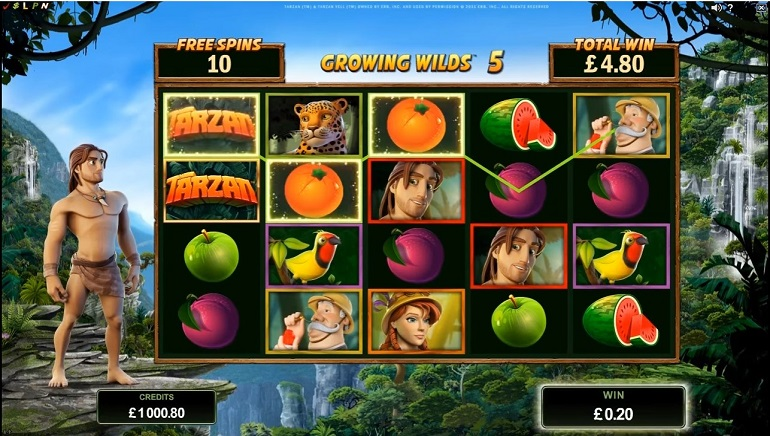 Microgaming's Tarzan: Action Packed Jungle Adventure for Adrenaline Junkies