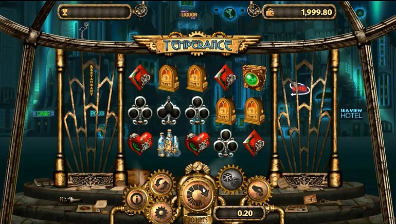 Review: Temperance Slot by Microgaming and Old Skool Studios