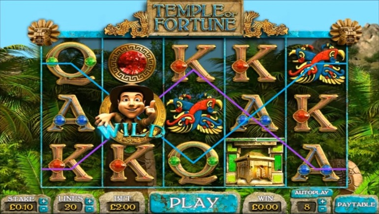Big Time Gaming Launches Temple Of Fortune Slot On Quickfire