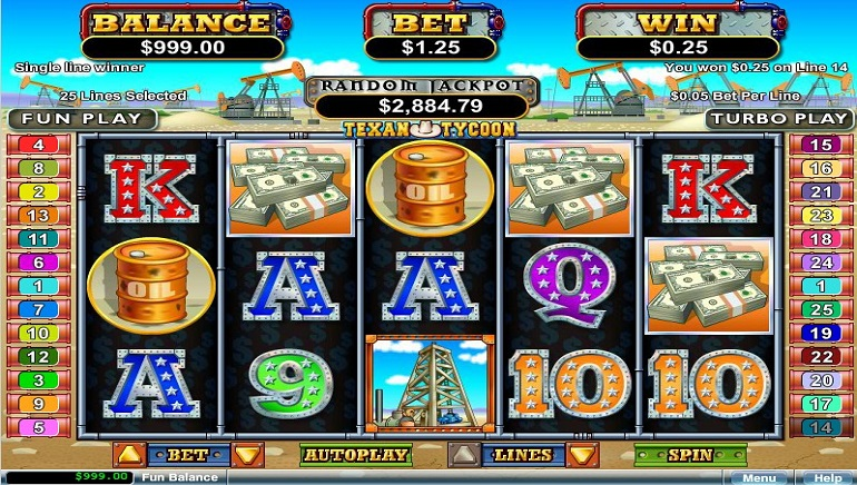 Intertops Casino Lets Players Hit Black Gold with Texas Tycoon Promotion