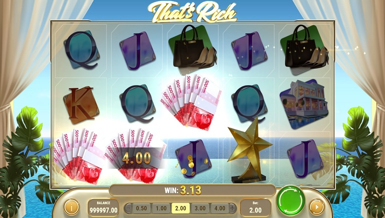 Live It Up With Play'n GO's New Slot, That's Rich